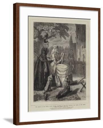 The Orphan of the Temple-Edgar Melville Ward-Framed Giclee Print