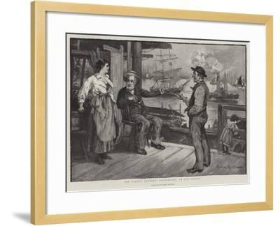 The Pilot's Retreat, Recognising an Old Friend-Davidson Knowles-Framed Giclee Print