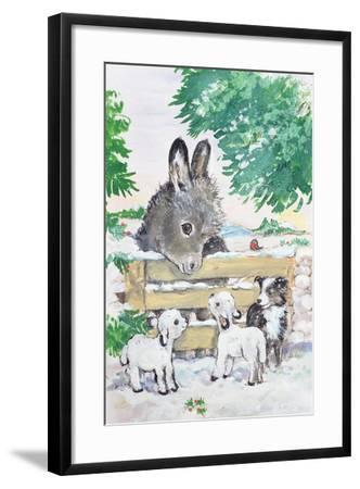 Farmyard Friends, 1996-Diane Matthes-Framed Giclee Print