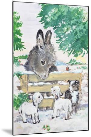 Farmyard Friends, 1996-Diane Matthes-Mounted Giclee Print