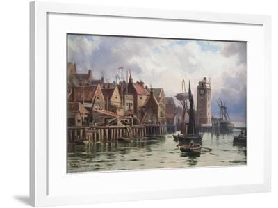 A Bit of Old Shields, 1898-Duncan F. McLea-Framed Giclee Print