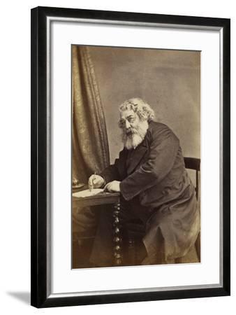Mark Lemon, C.1868-D. Everest-Framed Giclee Print