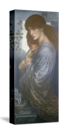 Proserpine, 1880-Dante Gabriel Charles Rossetti-Stretched Canvas Print