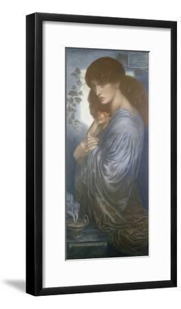 Proserpine, 1880-Dante Gabriel Charles Rossetti-Framed Giclee Print
