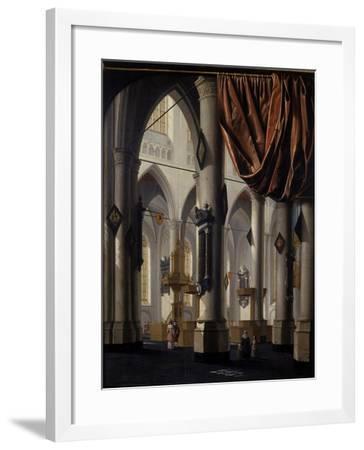 The New Church at Delft, 1654-Daniel de Blieck-Framed Giclee Print