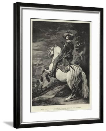 Don Gaspar De Guzman, Conde Duque D'Olivarez-Diego Velazquez-Framed Giclee Print