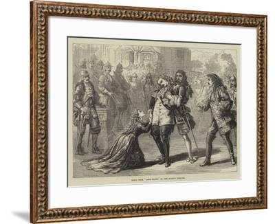 Scene from Amos Clark, at the Queen's Theatre-David Henry Friston-Framed Giclee Print