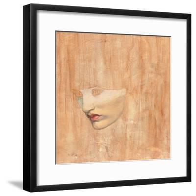 Head of Proserpine, 1872-Dante Gabriel Charles Rossetti-Framed Giclee Print