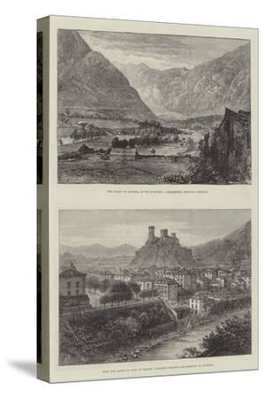 Sketches of Andorra-E. Jennings-Stretched Canvas Print