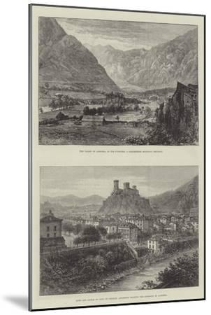 Sketches of Andorra-E. Jennings-Mounted Giclee Print