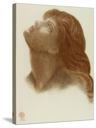 Study after 'Astarte Syriaca'-Dante Gabriel Charles Rossetti-Stretched Canvas Print