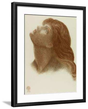 Study after 'Astarte Syriaca'-Dante Gabriel Charles Rossetti-Framed Giclee Print