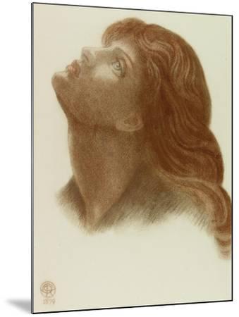 Study after 'Astarte Syriaca'-Dante Gabriel Charles Rossetti-Mounted Giclee Print