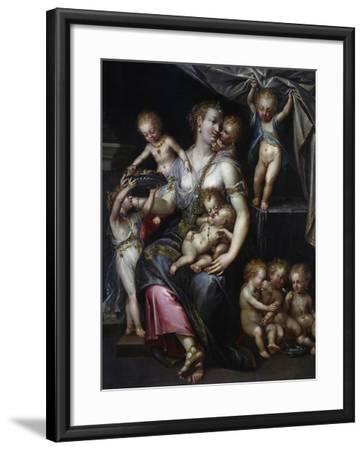 Allegory of Fertility and the Senses, 1593-Dirk De Quade Van Ravesteyn-Framed Giclee Print