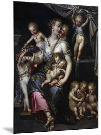 Allegory of Fertility and the Senses, 1593-Dirk De Quade Van Ravesteyn-Mounted Giclee Print