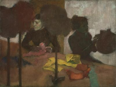 The Milliners, C.1882-1905-Edgar Degas-Framed Giclee Print