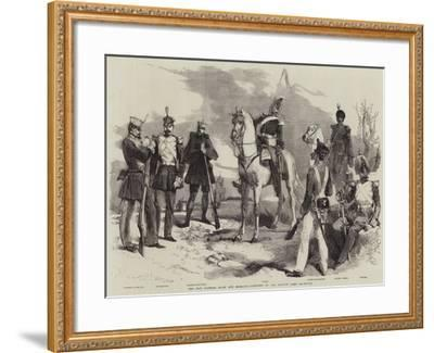 The War Between Spain and Morocco, Costumes of the Spanish Army-Edmond Morin-Framed Giclee Print