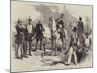 The War Between Spain and Morocco, Costumes of the Spanish Army-Edmond Morin-Mounted Giclee Print