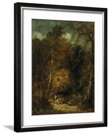 Wooded Landscape-David Cox-Framed Giclee Print