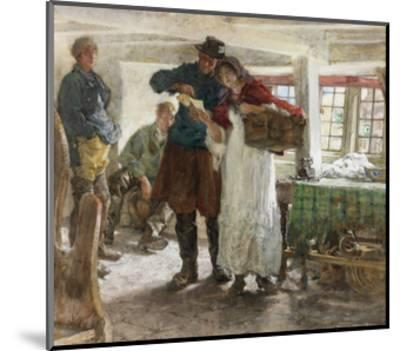 The Smugglers' News-Edgar Bundy-Mounted Giclee Print