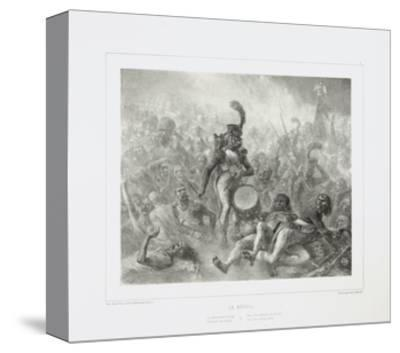 The Drum Waking the Dead Soldiers, 1842-Denis Auguste Marie Raffet-Stretched Canvas Print