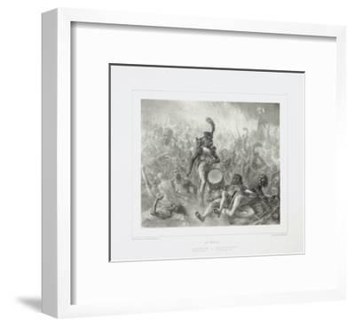 The Drum Waking the Dead Soldiers, 1842-Denis Auguste Marie Raffet-Framed Giclee Print