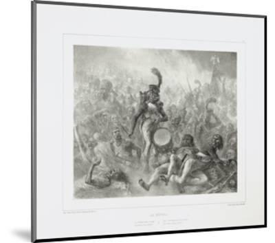 The Drum Waking the Dead Soldiers, 1842-Denis Auguste Marie Raffet-Mounted Giclee Print