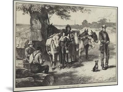 Quiet Times, a Sketch on Hampstead Heath-Edwin Buckman-Mounted Giclee Print