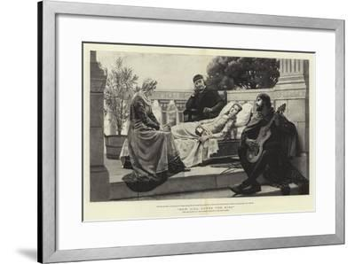 How Lisa Loved the King-Edmund Blair Leighton-Framed Giclee Print