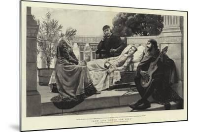 How Lisa Loved the King-Edmund Blair Leighton-Mounted Giclee Print