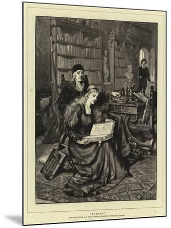 Romola-Edmund Blair Leighton-Mounted Giclee Print