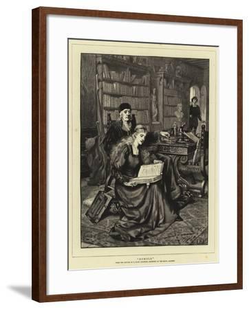 Romola-Edmund Blair Leighton-Framed Giclee Print