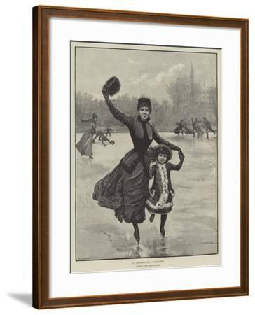 A Christmas Greeting-Edward Morant Cox-Framed Giclee Print