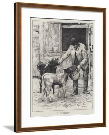 First Come, First Served-Edward R. King-Framed Giclee Print