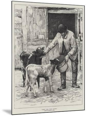 First Come, First Served-Edward R. King-Mounted Giclee Print