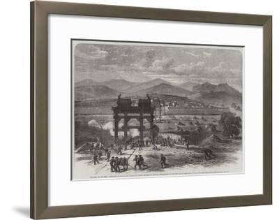 The Civil War in China-Edmund Morison Wimperis-Framed Giclee Print