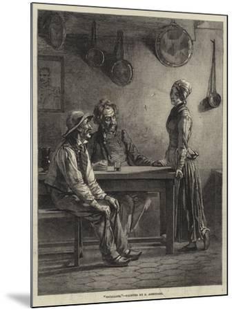 Socialists-Edward A. Armitage-Mounted Giclee Print
