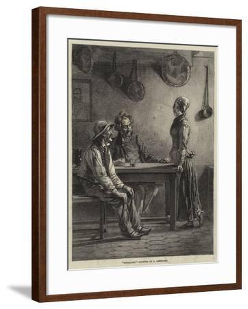 Socialists-Edward A. Armitage-Framed Giclee Print