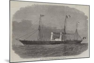 The Royal Italian Steam-Ship Esploratore-Edwin Weedon-Mounted Giclee Print