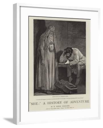 She, a History of Adventure-Edward Killingworth Johnson-Framed Giclee Print