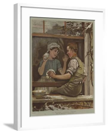 A Picture Without Words-Edward Killingworth Johnson-Framed Giclee Print