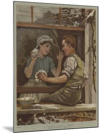 A Picture Without Words-Edward Killingworth Johnson-Mounted Giclee Print