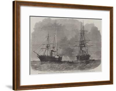 The Seizure by Captain Wilks-Edwin Weedon-Framed Giclee Print