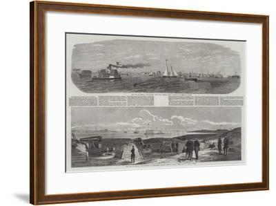 The War in America-Edwin Weedon-Framed Giclee Print