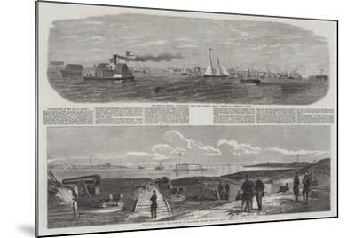 The War in America-Edwin Weedon-Mounted Giclee Print