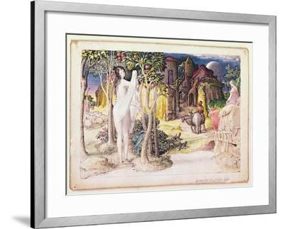 The Primitive City, 1822-Edward Calvert-Framed Giclee Print