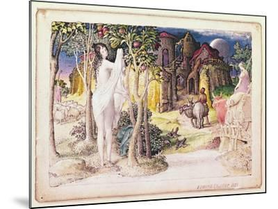 The Primitive City, 1822-Edward Calvert-Mounted Giclee Print