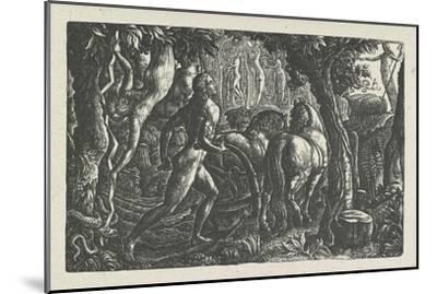 The Ploughman: Christian Ploughing the Last Furrow of Life-Edward Calvert-Mounted Giclee Print