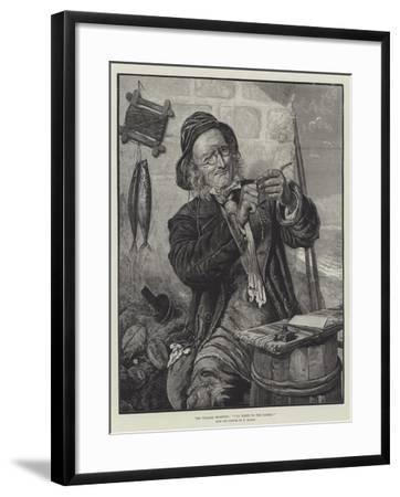The Village Champion, I'll Write to the Papers!-Edward Deanes-Framed Giclee Print
