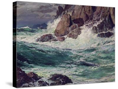 Stormy Seas, 1923-Edward Henry Potthast-Stretched Canvas Print